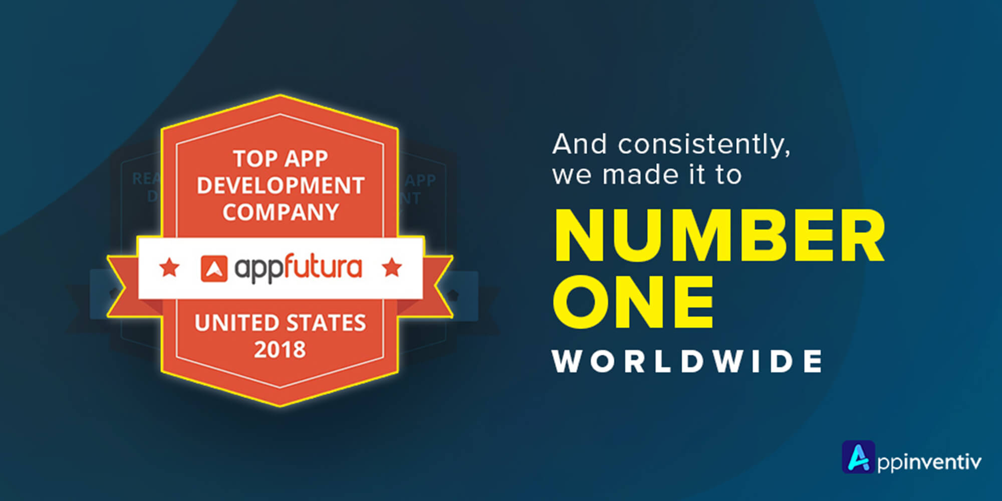 amlirAppinventiv Ranked Number 1 Mobile App Development Company in the World