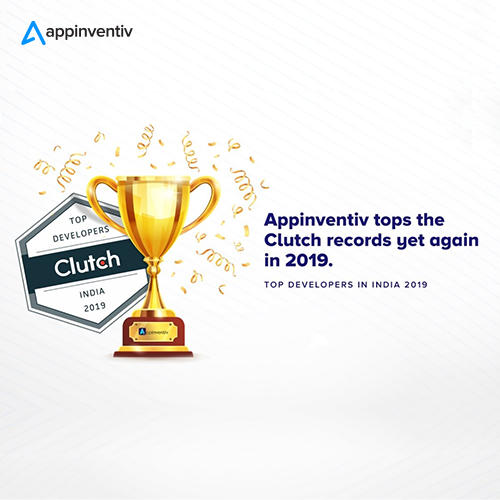 Appinventiv Named 'The Top App Developer' by Clutch