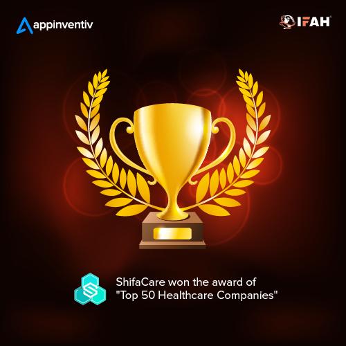 ShifaCare Wins 'Top 50 Healthcare Companies' Award at IFAH Dubai