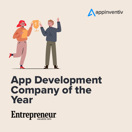 App Development Company of the Year by Entrepreneur
