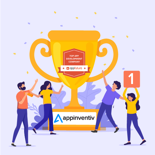 Appinventiv Ranked Number 1 in Appfutura