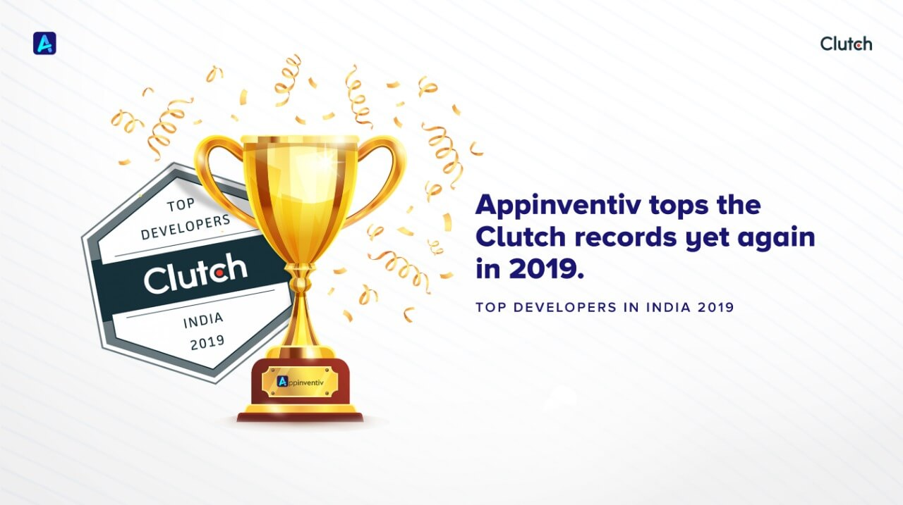 Appinventiv Named a Top App Developer by Clutch