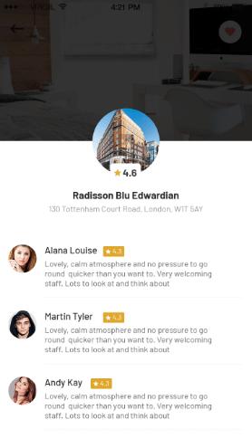 Empire App - Design App Screen
