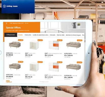 Ikea - ERP app solution