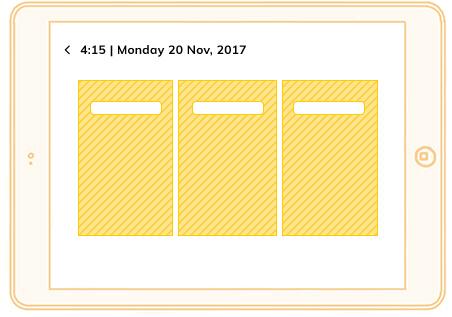 IKEA App - Menu Selection User Interface Design
