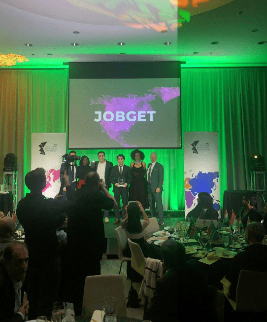 JobGet App Awarded with top prize