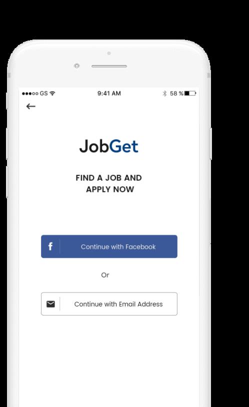 Jobget Mobile App