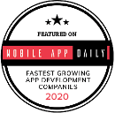 Best Healthcare App & Software Development Company - MobileAppDaily Badge