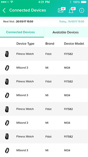 Mutelcor App - Mobile User Interface
