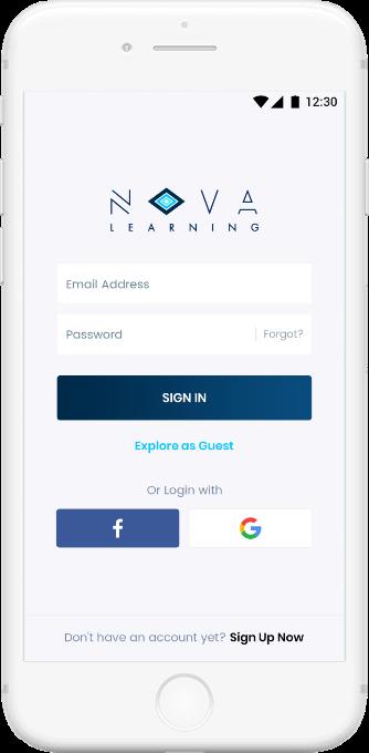 Nova Mobile App