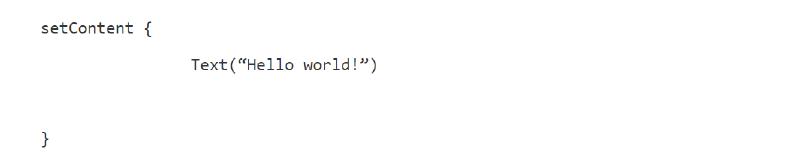 Jetpack sample code