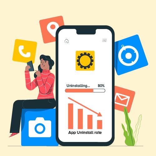 5 Easy Ways To Reduce Mobile App Uninstalls