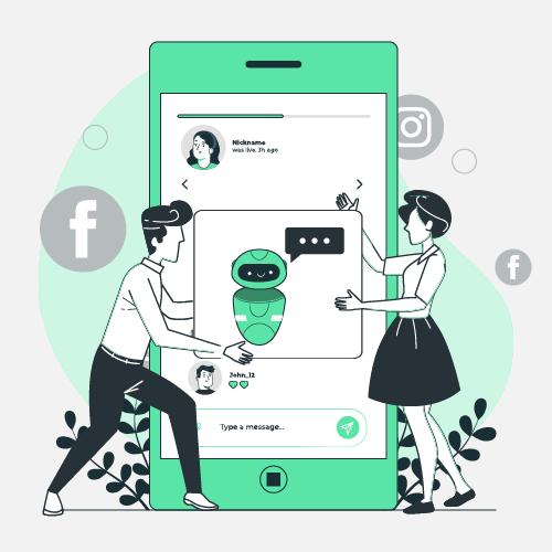 Hire Chatbot Developers For Social Media Bots