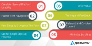 8 Crucial Methodologies for Better Mobile App Usability