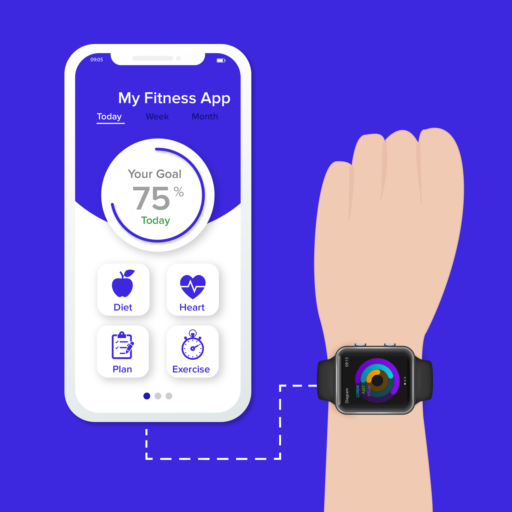 Wearables – The Emerging Future Trend for the mHealth Apps
