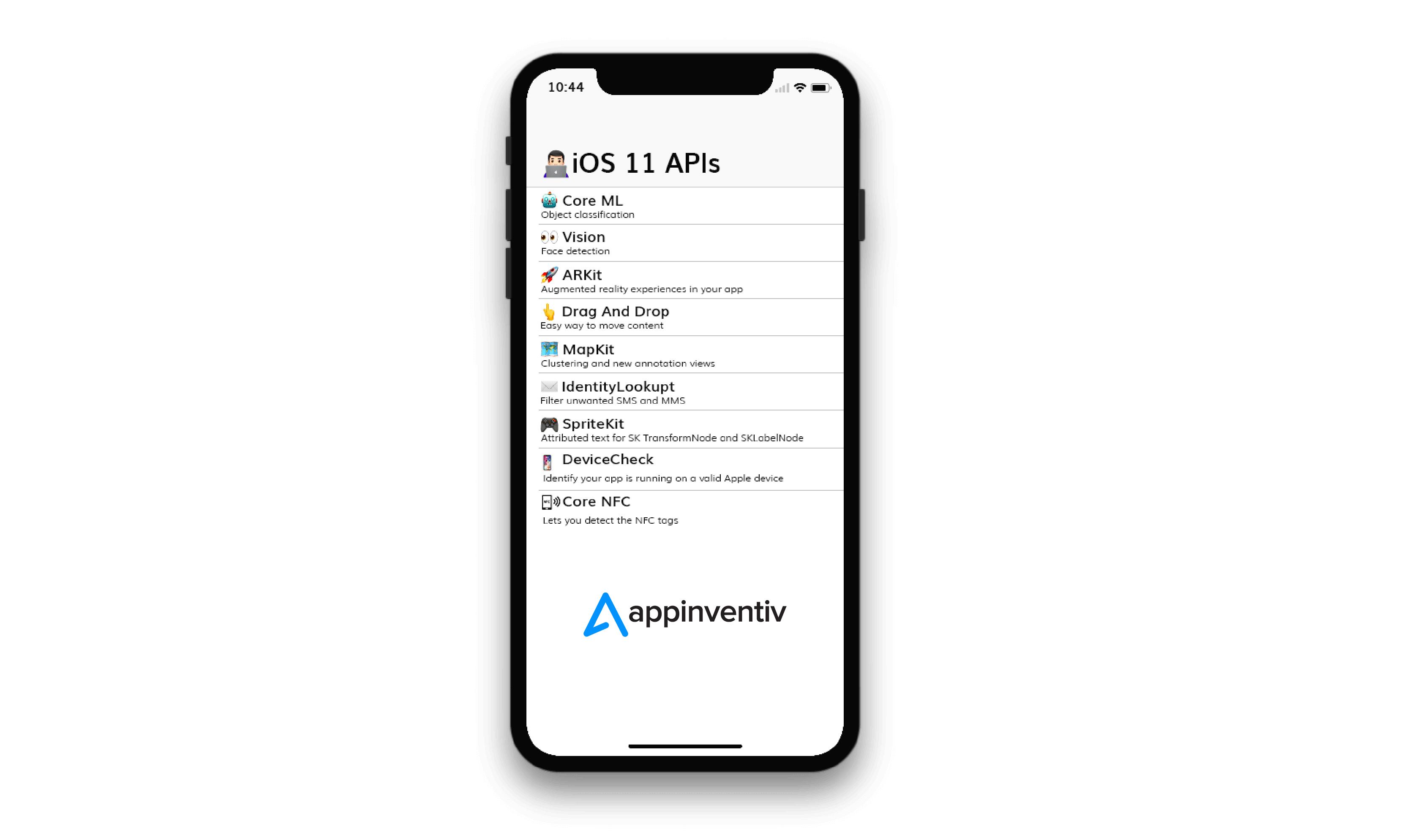 The Nine iOS 11 APIs