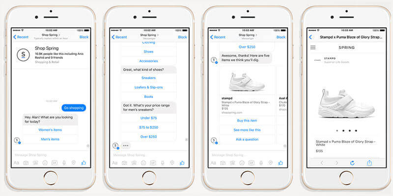 Menu Based Chatbots Development Company