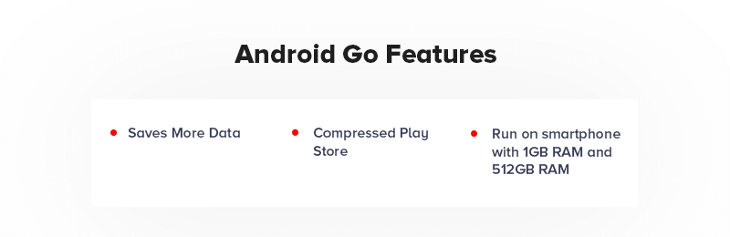 Android Go Features