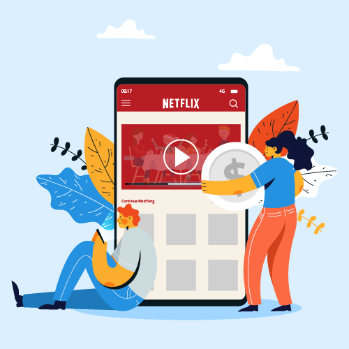 Cost to develop Video Streaming App like Netflix