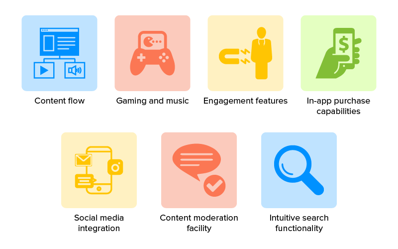 Features that Make Entertainment Apps Engaging