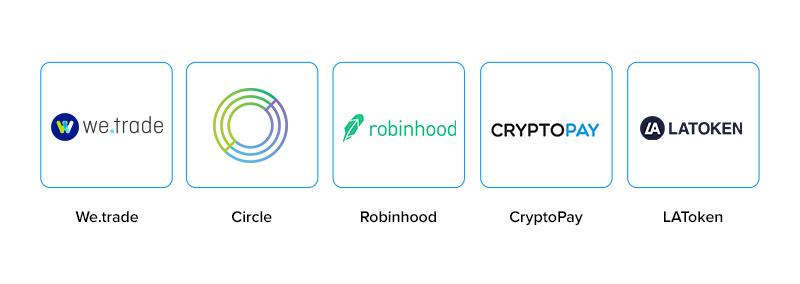 Popular Blockchain Fintech Solution