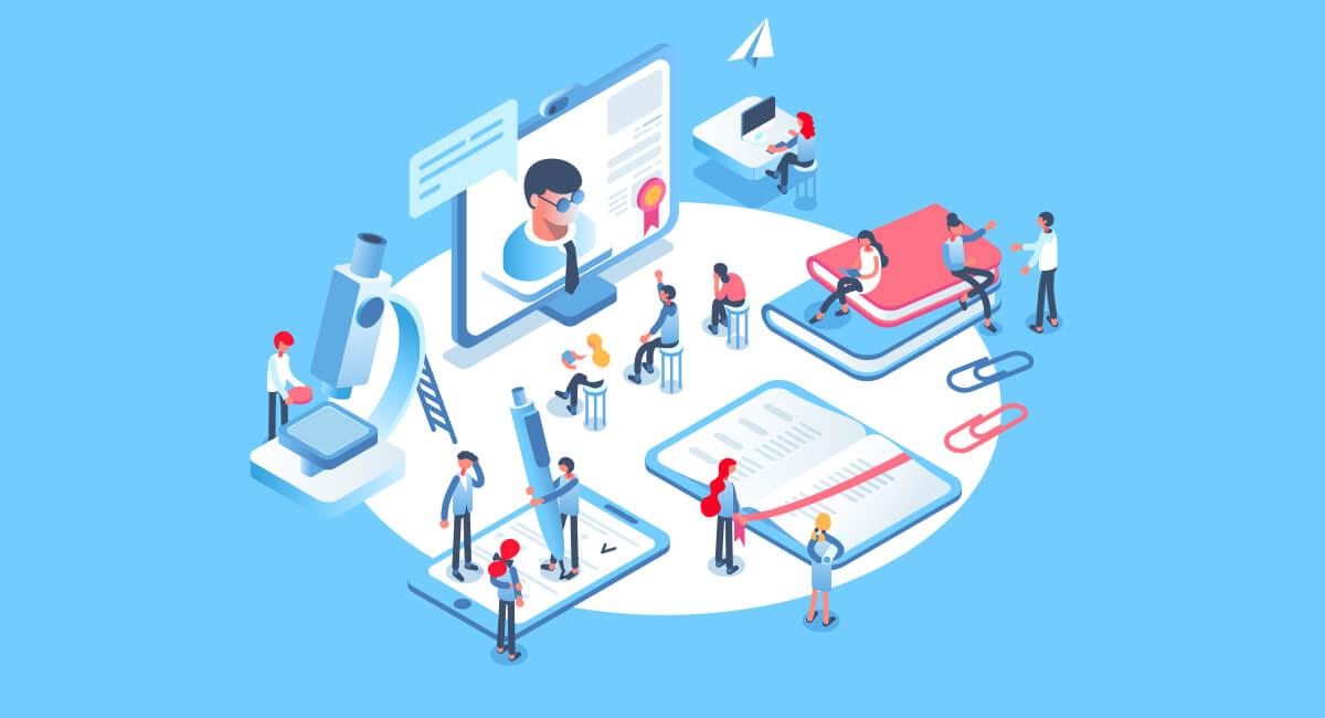 Mobile learning app for enterprise