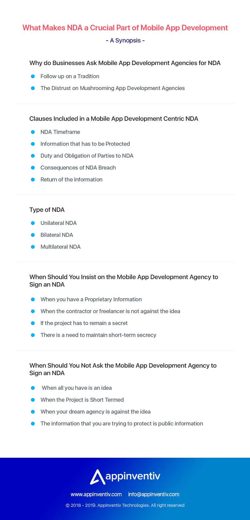 What Makes NDA a Crucial Part of Mobile App Development Process