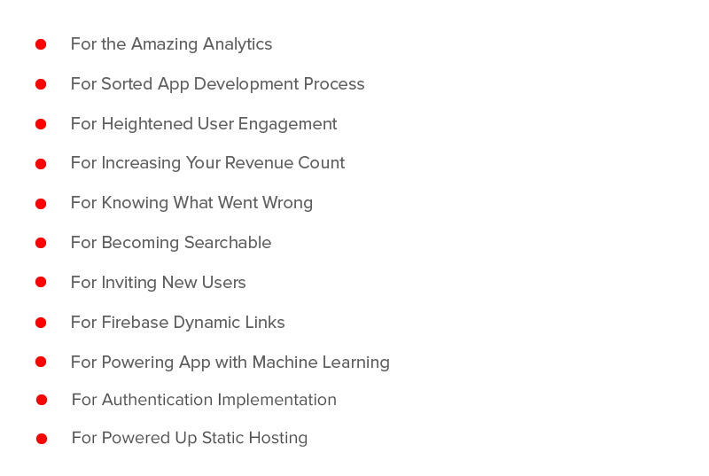Why Should Your Startup Use Firebase for Apps?
