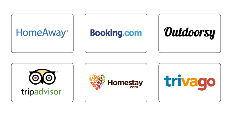 Top Competitors of Airbnb