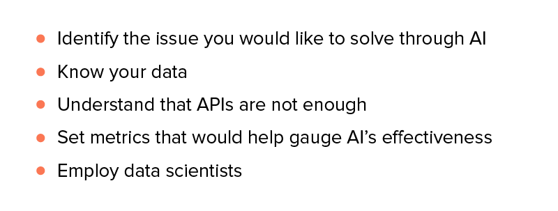 How to Start with Implementation of AI into Apps?