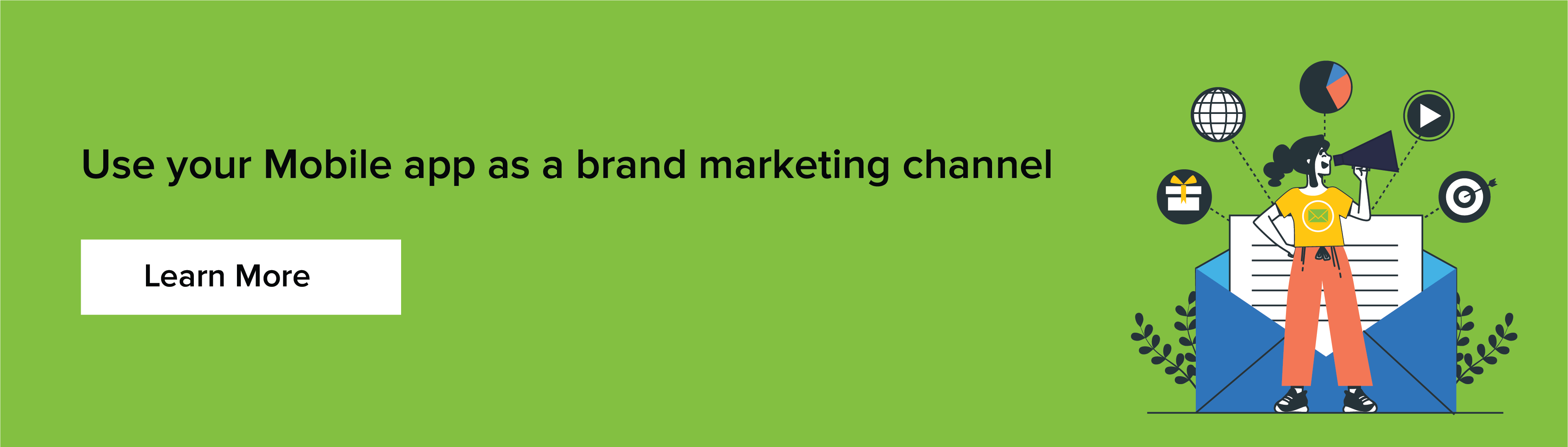 Mobile app as brand marketing channel