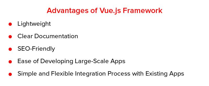 Advantages of Vue.js Framework