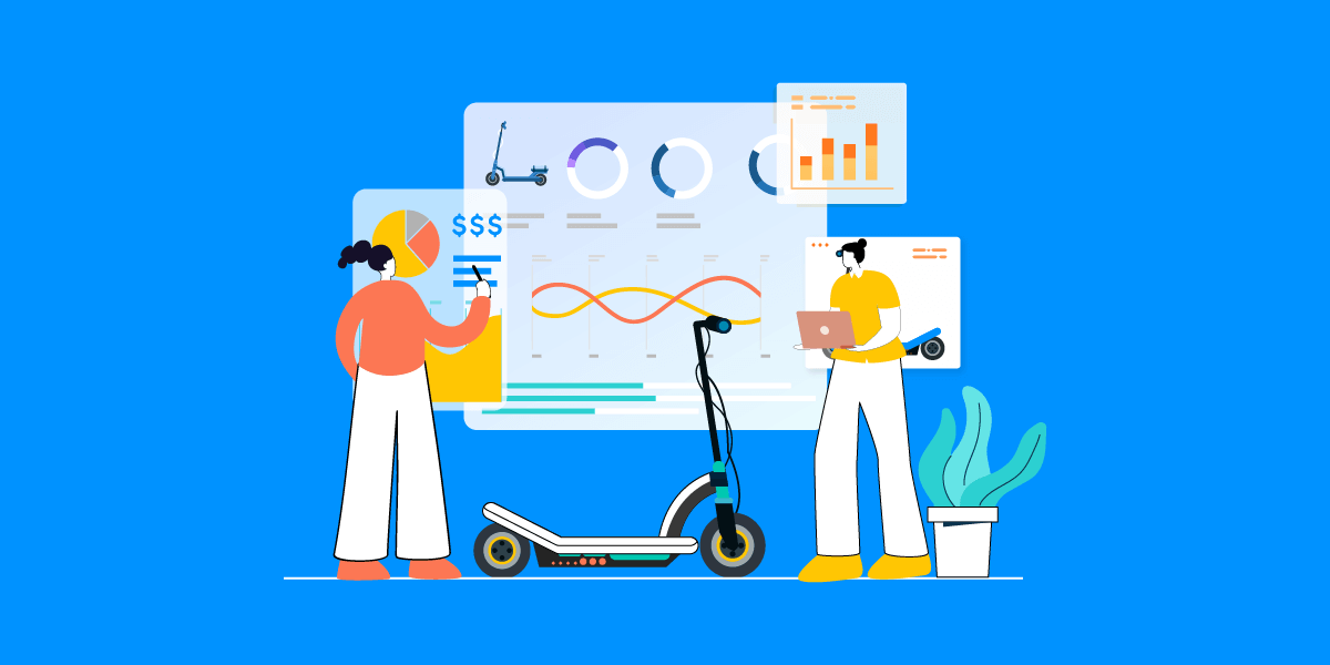 E-Scooter Trends and Statistics displaying a prosperous future