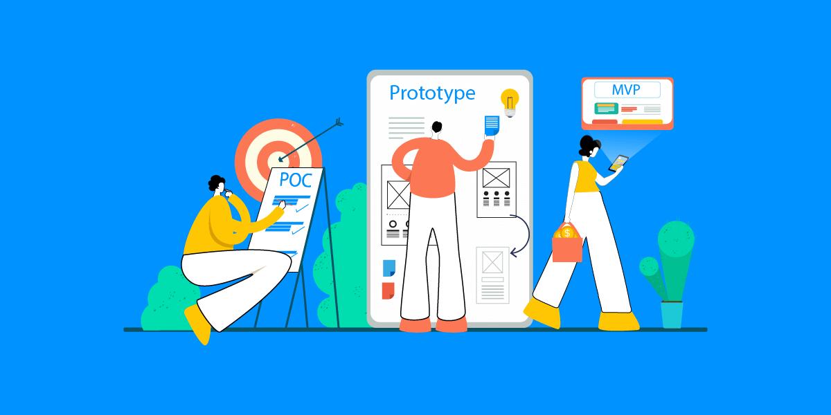 POC vs. MVP vs. Prototype The Strategy Closest to Product Market Fit