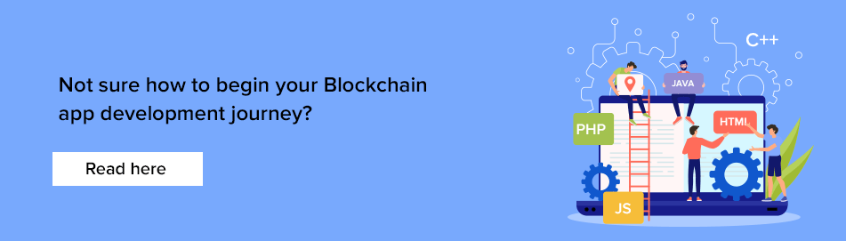 Blockchain app development guide