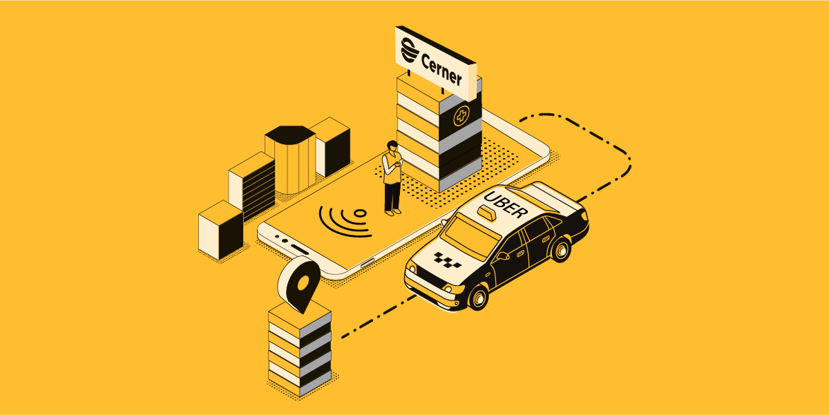 Uber App to integrate Cerner's EHR