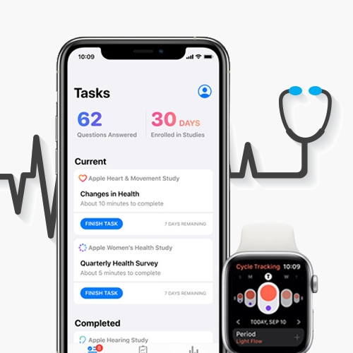 Apple Launches Research App on Apple Watch and iPhone