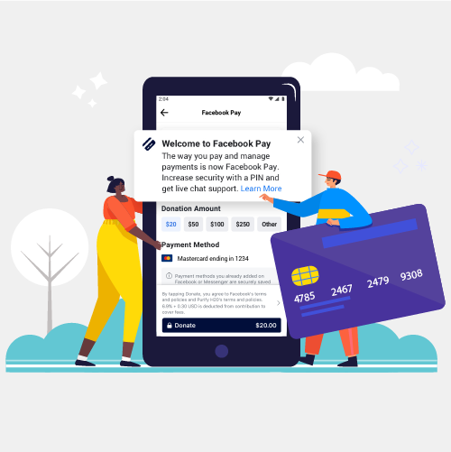 Facebook Launches Integrated Payment