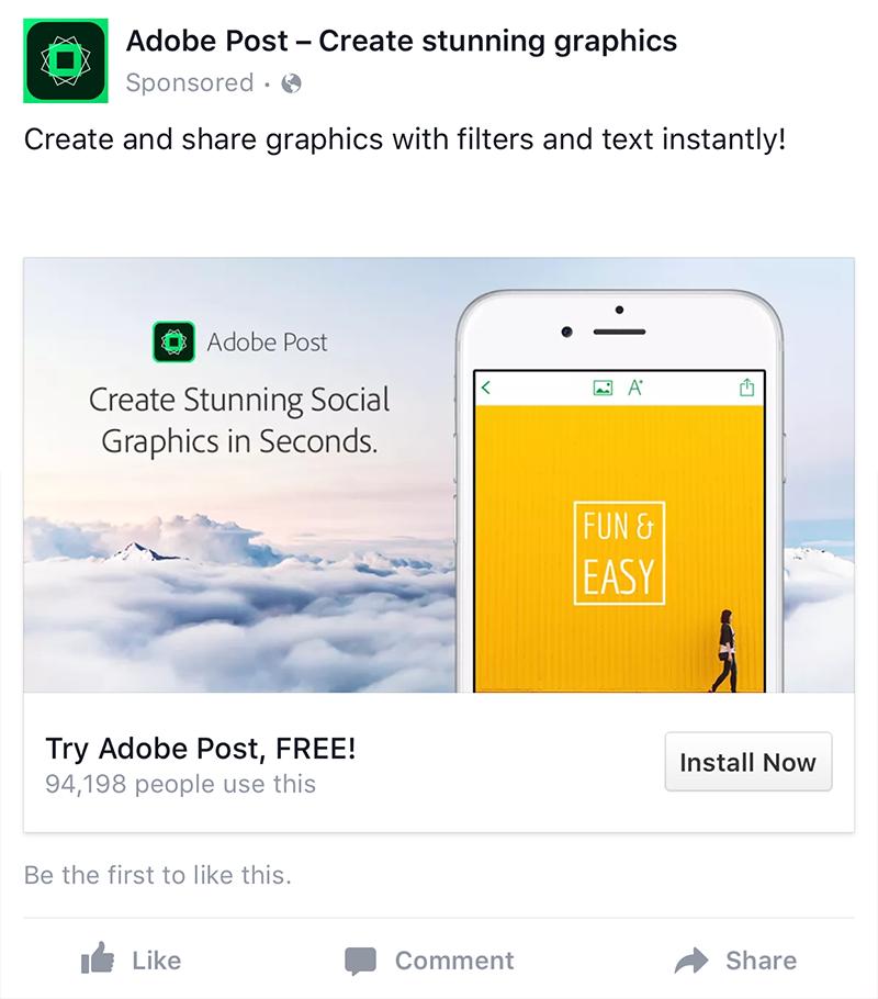 app install ads