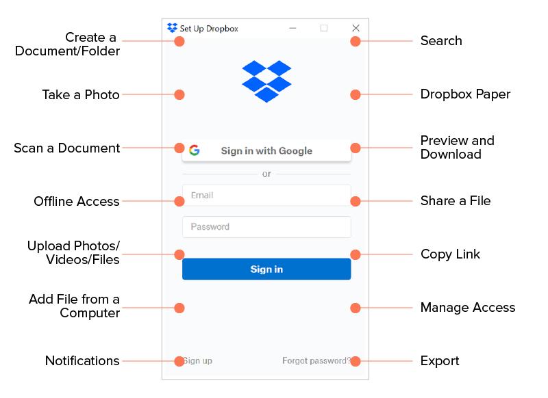top features of dropbox app