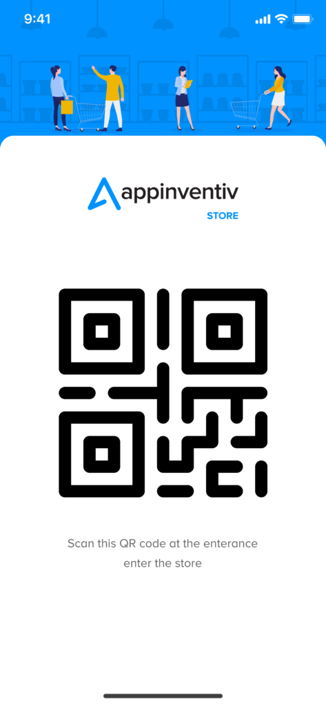 Appinventiv Store QR code