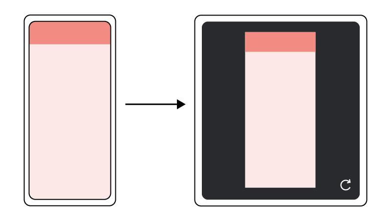 screen continuity