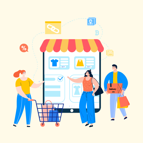 Blockchain technology in retail and ecommerce industries