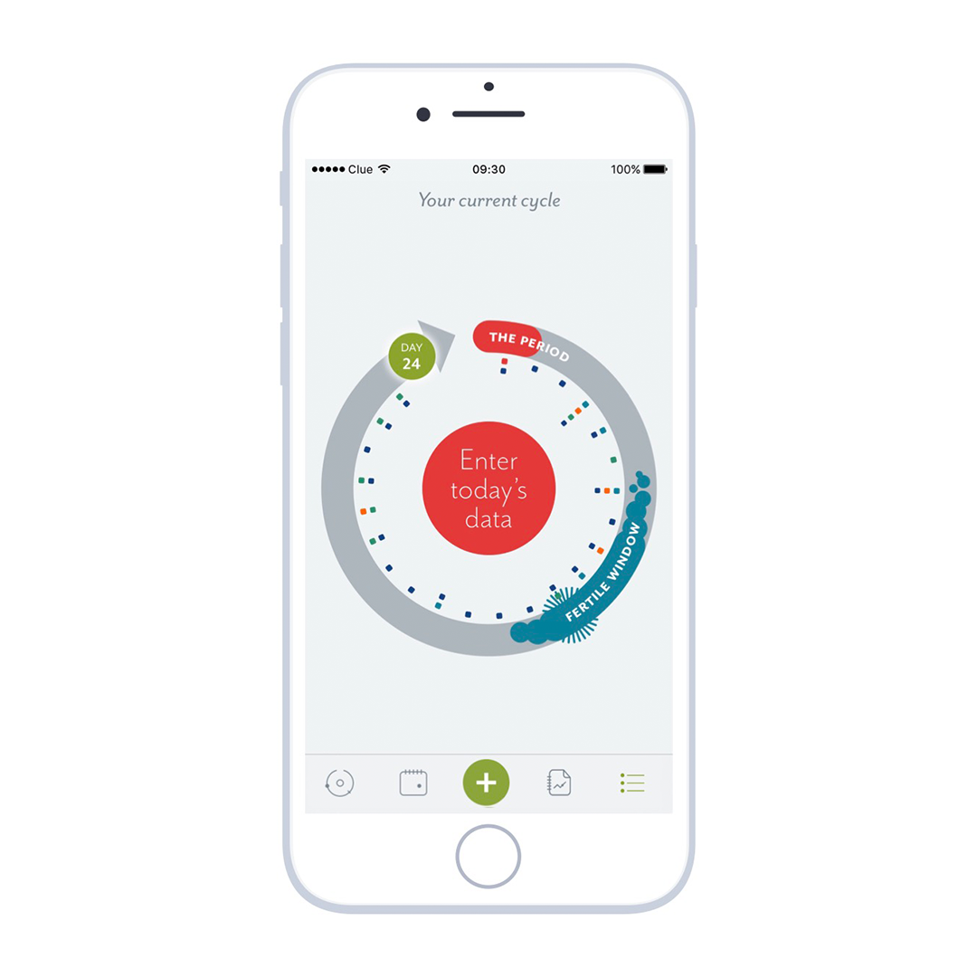 clue : female health tracking app