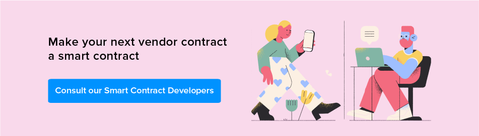 Consult our smart contract developers