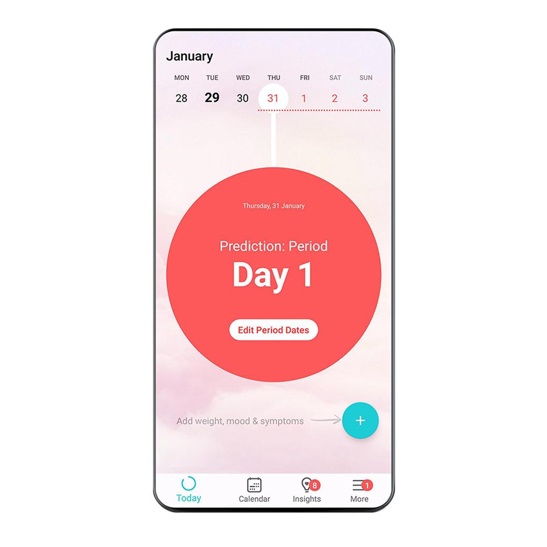 flo : women fitness tracking app