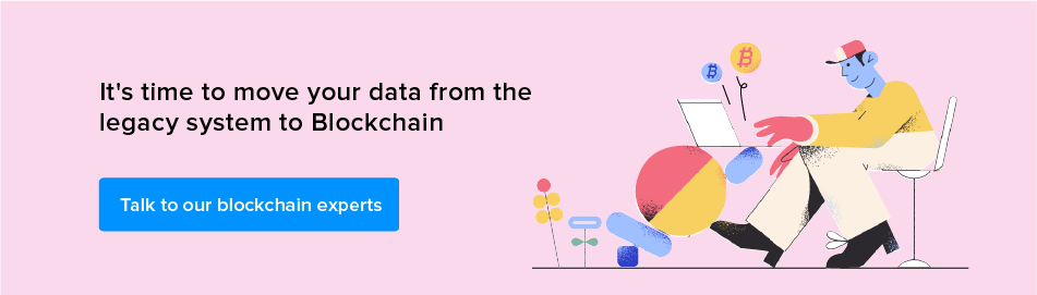 Talk to our blockchain experts