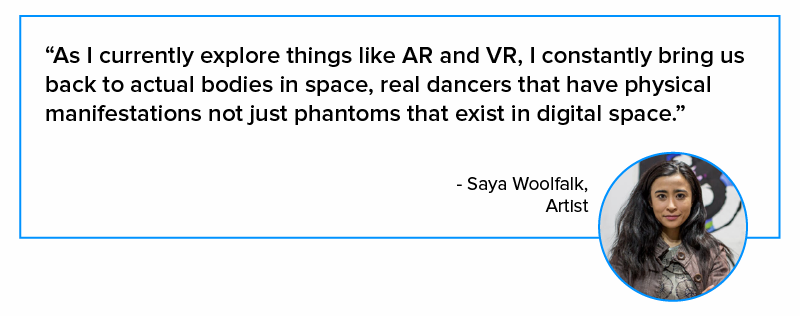 quote on AR