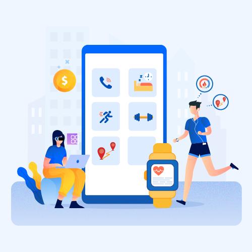 wearable app development cost