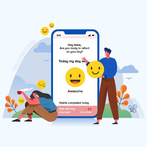 mood tracking app development